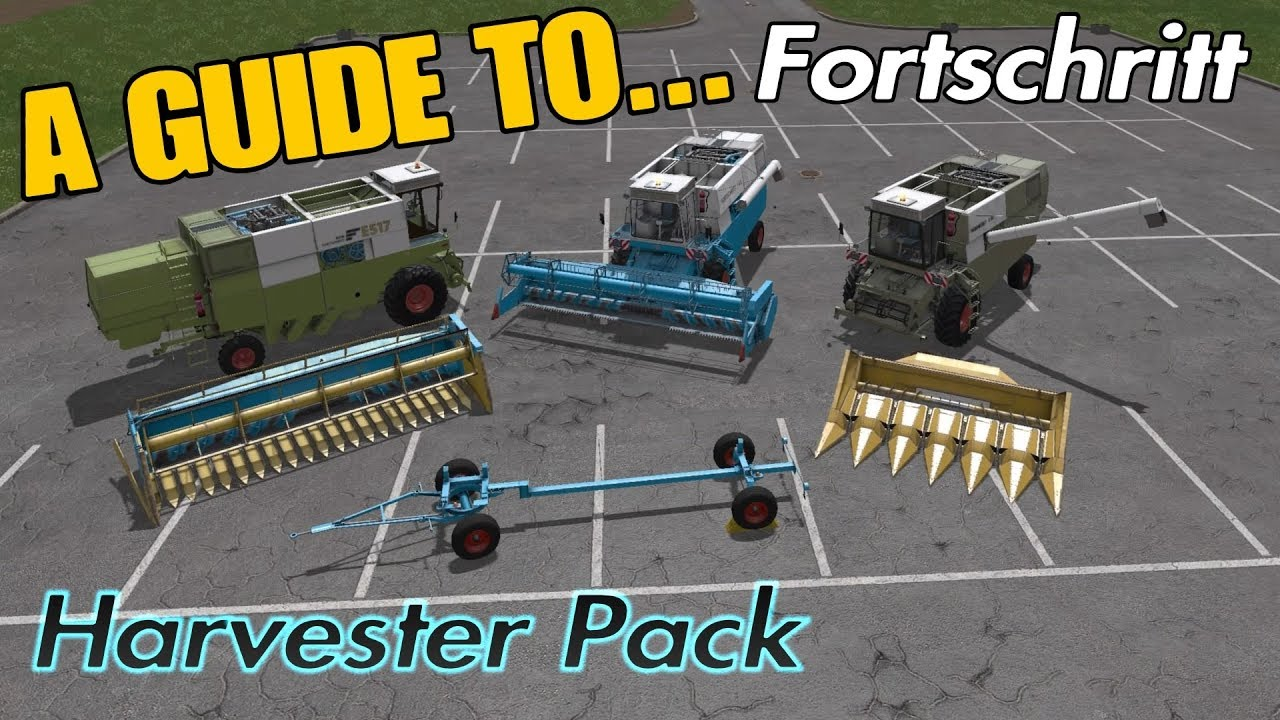 Farming Simulator 17 PS4: A Guide to    Fortschritt Harvester Pack