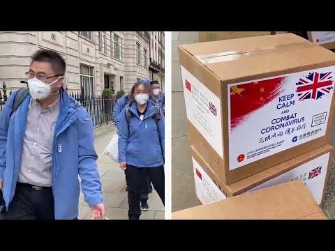 Chinese Doctors Arrive In London To Help With Coronavirus Effort