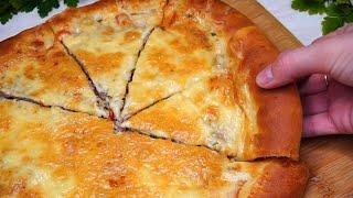 Муж Вас зацелует за этот Вкусный Мясной Пирог а всего то нужно немного муки фарша и