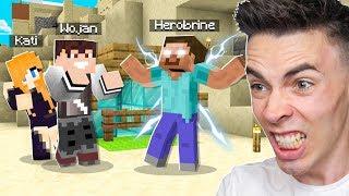 PRZYGOTOWUJEMY się na WALKĘ z HEROBRINE w Minecraft!