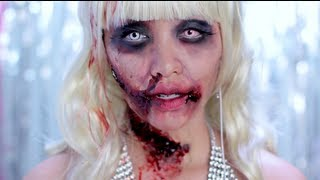 One of Michelle Phan's most viewed videos: Zombie Barbie