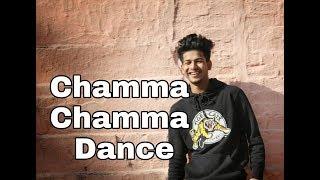 Chamma Chamma Neha Kakkar -Fraud Saiyaan | Elli AvrRam,Arshad,Tanishk Dance Cover By Aman Shah