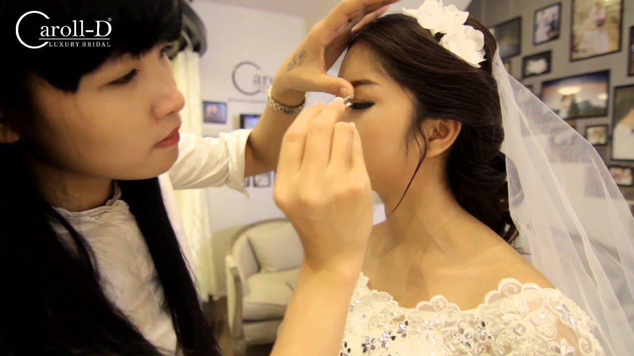 Trang điểm cô dâu cực đẹp tại ảnh viện áo cưới Caroll-D