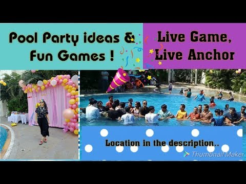 pool party games ideas