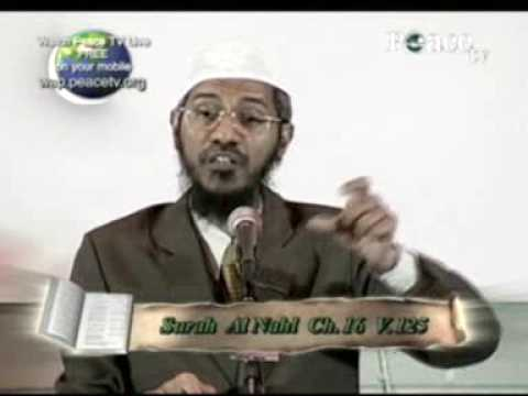 Dr Naik Excellent Answer, About Extremists And Idols
