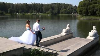 Трогательная свадьба в Царицыно. Видеооператор в Москве и МО   т.  8 915 32 99 6 88 владимир