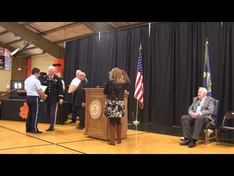St. John's Military School:  Academic/Military Awards Ceremony 2017