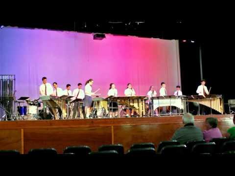 Music For A Found Harmonium - BSHS Percussion Ensemble 2015