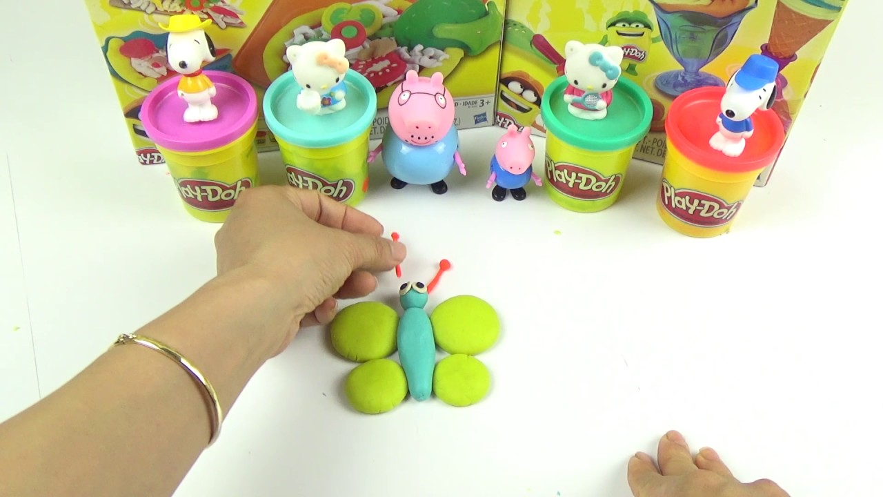 English for children | lean animal with Play Doh | Play Doh fun