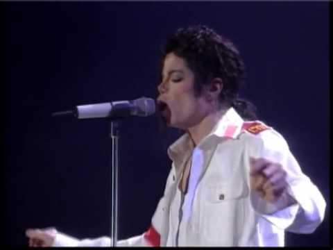 Michael Jackson Live In Bucharest 1992 Dangerous Tour Man