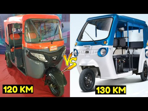 Mahindra Treo e-Auto Vs Bajaj RE Electric Auto Rickshaw Review