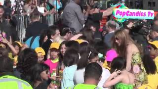 Victoria Justice arrives at Kids Choice Awards in LA Thumbnail