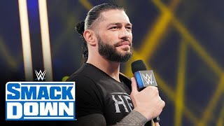 Roman Reigns calls out Edge before he arrives SmackDown: SmackDown, Feb. 5, 2021