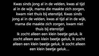 Ali B - Klein Beetje Geluk ft. Sevn Alias & Boef (lyrics)
