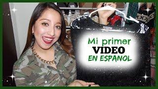 Mi Primer Video en Español - HAUL | Aimet Valdez