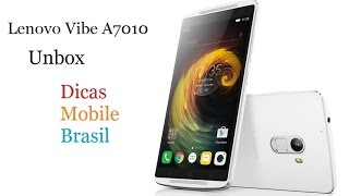 Unboxing Lenovo Vibe A7010 - Dicas Mobile Brasil