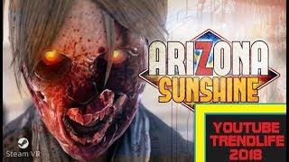 Arizona Sunshine gameplay mit der Aim 2018 ps4