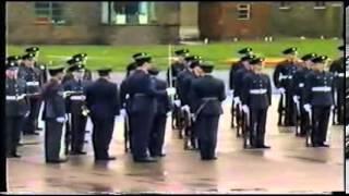 ROYAL AIR FORCE  PASSING OUT PARADE 1986