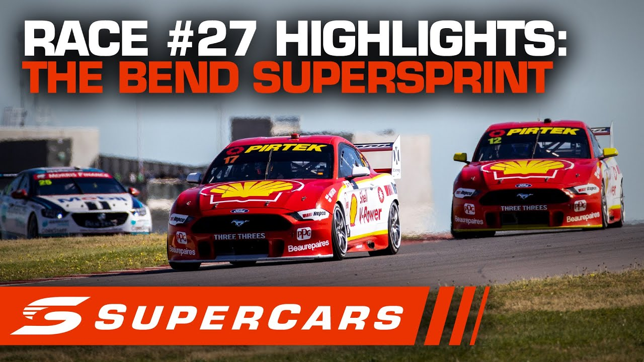Download Highlights: Race #27 - The Bend SuperSprint | Supercars 2020