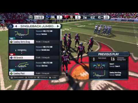 Madden NFL 15: Cowboys Vs. Buccaneers 11/15/15 Livestream