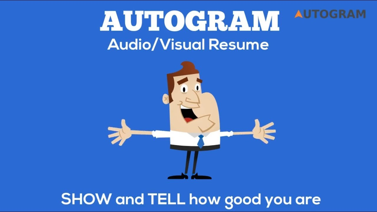 autogram audiovisual resume