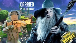 Gandalf Brian Carried ? ? ?   -    FORTNITE (Funny Moments)