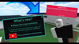 Stingray V1.2 - Minor Update - Roblox Exploiting and Trolling | Synapse X