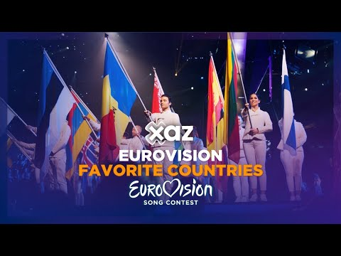 Eurovision: Favorite Countries