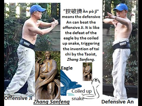 The tai chi 4/按勁 (4/An jin) An power (energy) explained in the mystical dimension of Yi Jing 易經