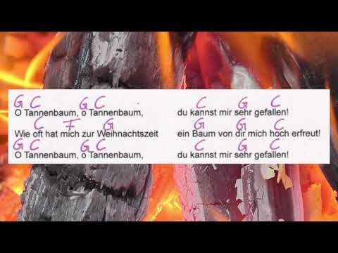 O Tannenbaum - Traditional - Text und Akkorde - Musikschach