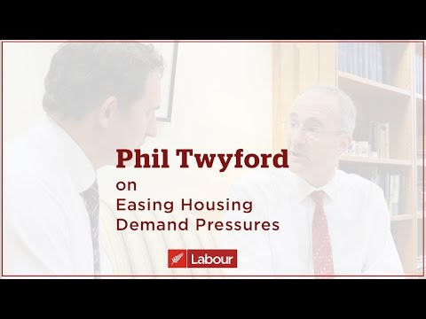 Easing The Housing Crisis - Phil Twyford Proposed Changes