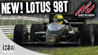 Assetto Corsa Lotus 98T at Monza (NEW Gameplay)