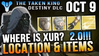 xur location october 9 2015 destiny where is xur 10 9 15 gauntlet engrams