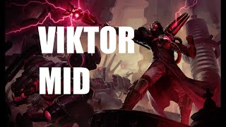 Viktor Mid Lane Gameplay - Patch 9.20 (League of Legends Gameplay)