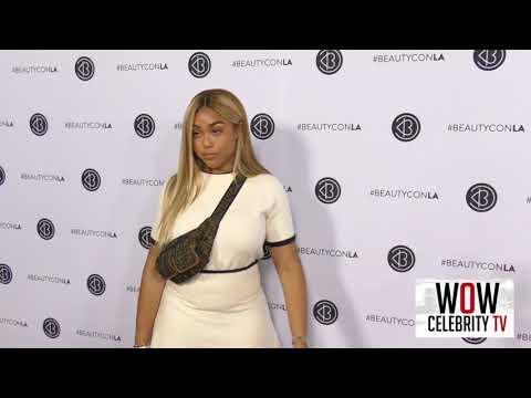 Jordyn Woods Arrives To Beautycon In Los Angeles