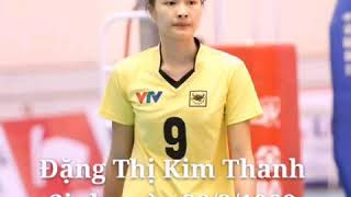 Thông tin về hoa khôi VTV cup 2018 Đặng Thị Kim Thanh