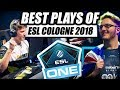 BEST PLAYS OF ESL ONE COLOGNE 2018