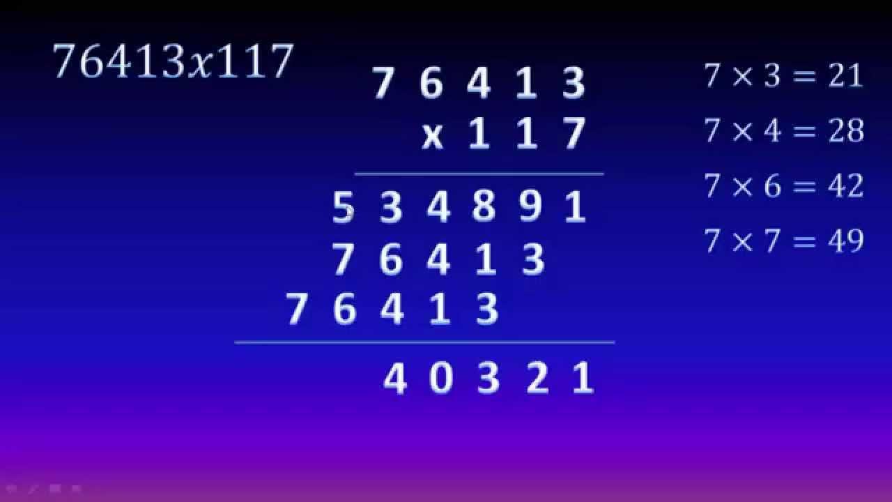 Página 3 De 5: 5. Cómo Multiplicar Por Un Número De Tres Cifras