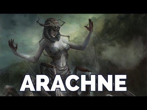 Le Mythe d'Arachné (Mythologie Grecque)