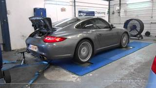 * Reprogrammation Moteur * Porsche 997 Carrera 4S 385cv @ 398cv Dyno Digiservices Marseille