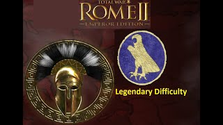 Total War ROME II Egypt Military Victory Legendary Difficulty