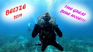 BELIZE / THE GREAT BLUE HOLE!!!!