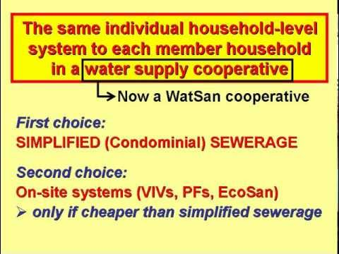 A New Paradigm for Urban Water Supplies and Sanitation. Periurban Water Supplies 2 of 2