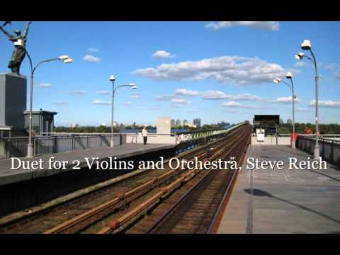 Duet for 2 Violins and Orchestra, Steve Reich SD 480p