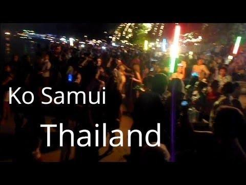 Thailand Travel: Crazy Nightlife Scene on Ko Samui