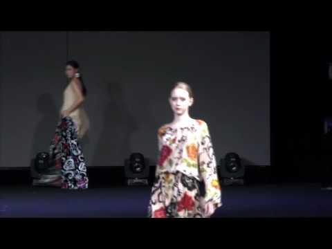 Elena Milberger 2016 the 5th Eurasia Silk Road Fashion Week