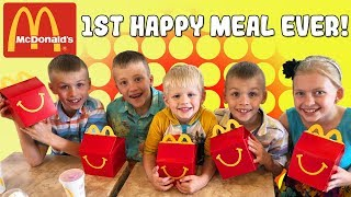Kids React to First Happy Meal