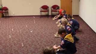 Cub Scouts Catapult War
