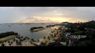 Dji Phantom Indonesia - Visit Singapore and Malaysia From The Air (Mini Showreel) [HD]
