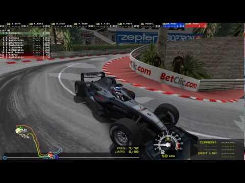 Трансляция Ф1 2004 БП Монако на сайте Гонки.МЕ